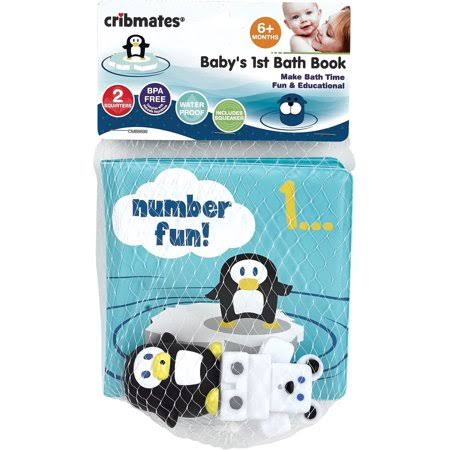 Cribmates Baby's 1st Bath Book Number Fun