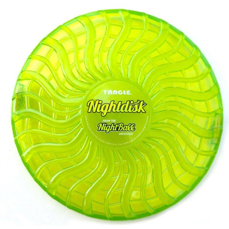 Tangle Sport Matrix Airless Nightball Disk Toy