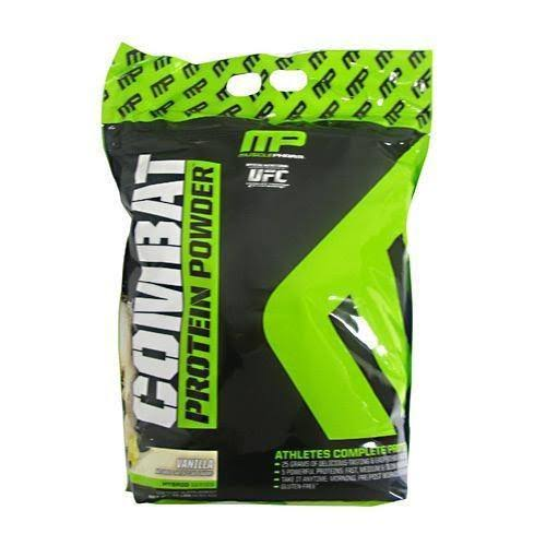 MusclePharm Combat Sport Protein Powder Supplement - Vanilla, 10lbs