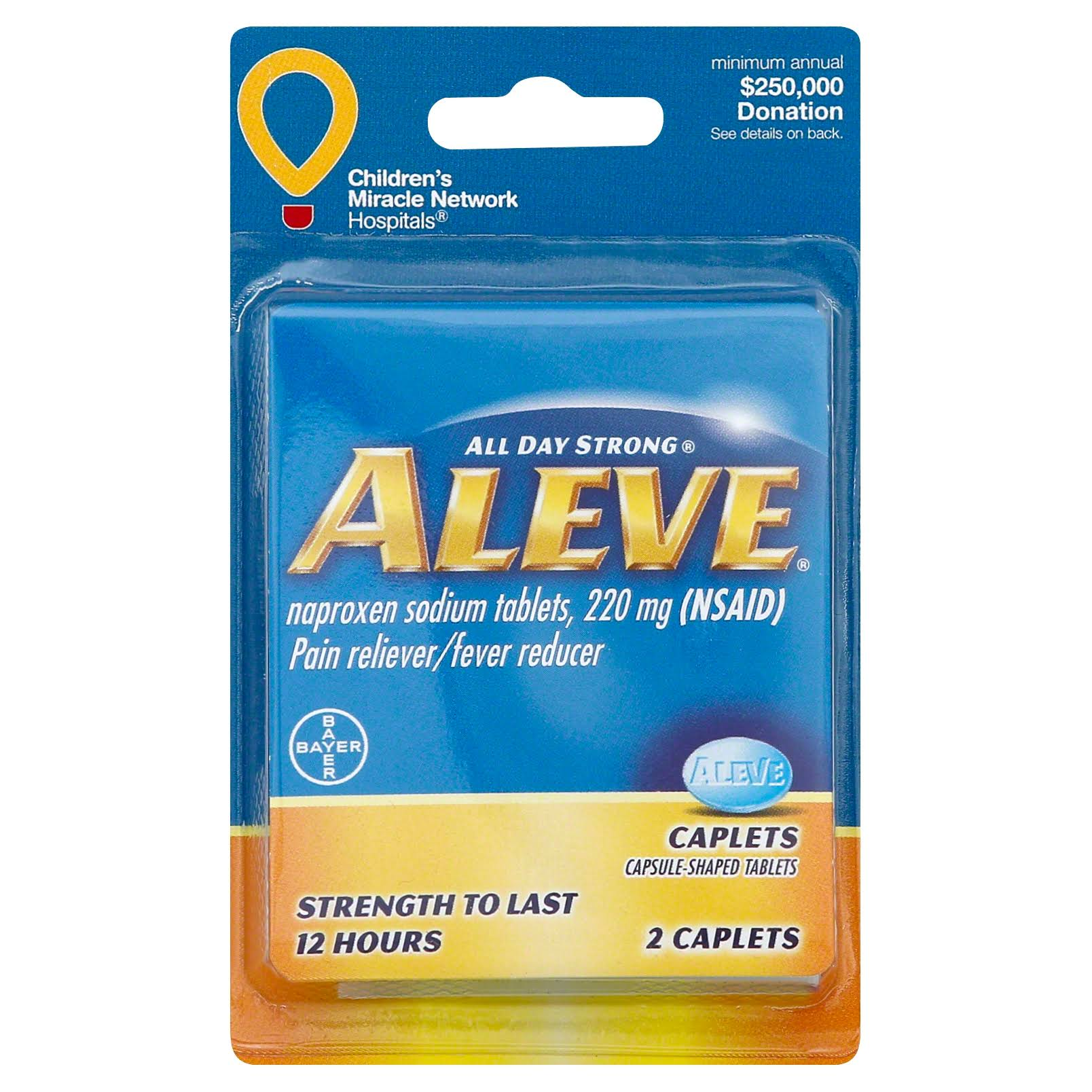 Aleve Pain Reliever
