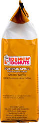 Dunkin Donuts Pumpkin Donut Ingredients by Dunkin U0027 Donuts Pumpkin Spice Ground Coffee 11 Oz Walmart Com