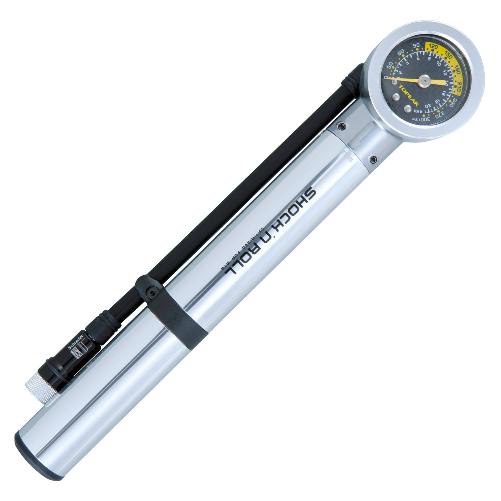Topeak Shock N Roll Hand Shock Pump - with Gauge