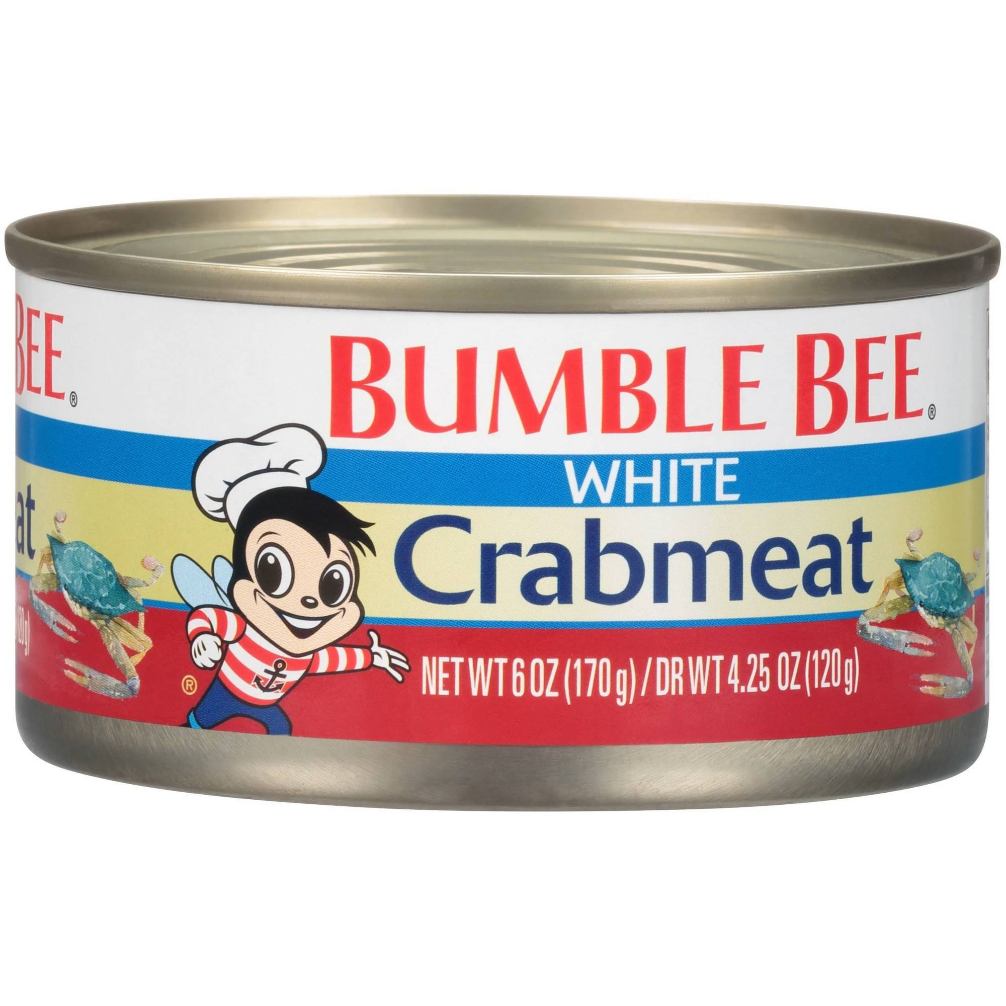 Bumble Bee Premium Select Wild Fancy White Crab Meat - 6oz