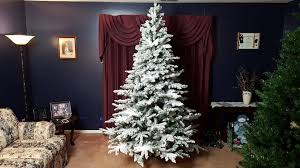 Vickerman Flocked Slim Christmas Tree by Interior 12 Foot Slim Tree 6ft Xmas Tree 10 Foot Tree Fiber