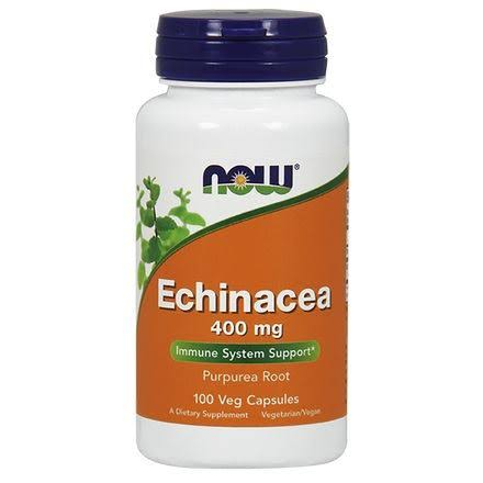 Now Foods Echinacea Purpurea Root - 400mg, 100 Capsules