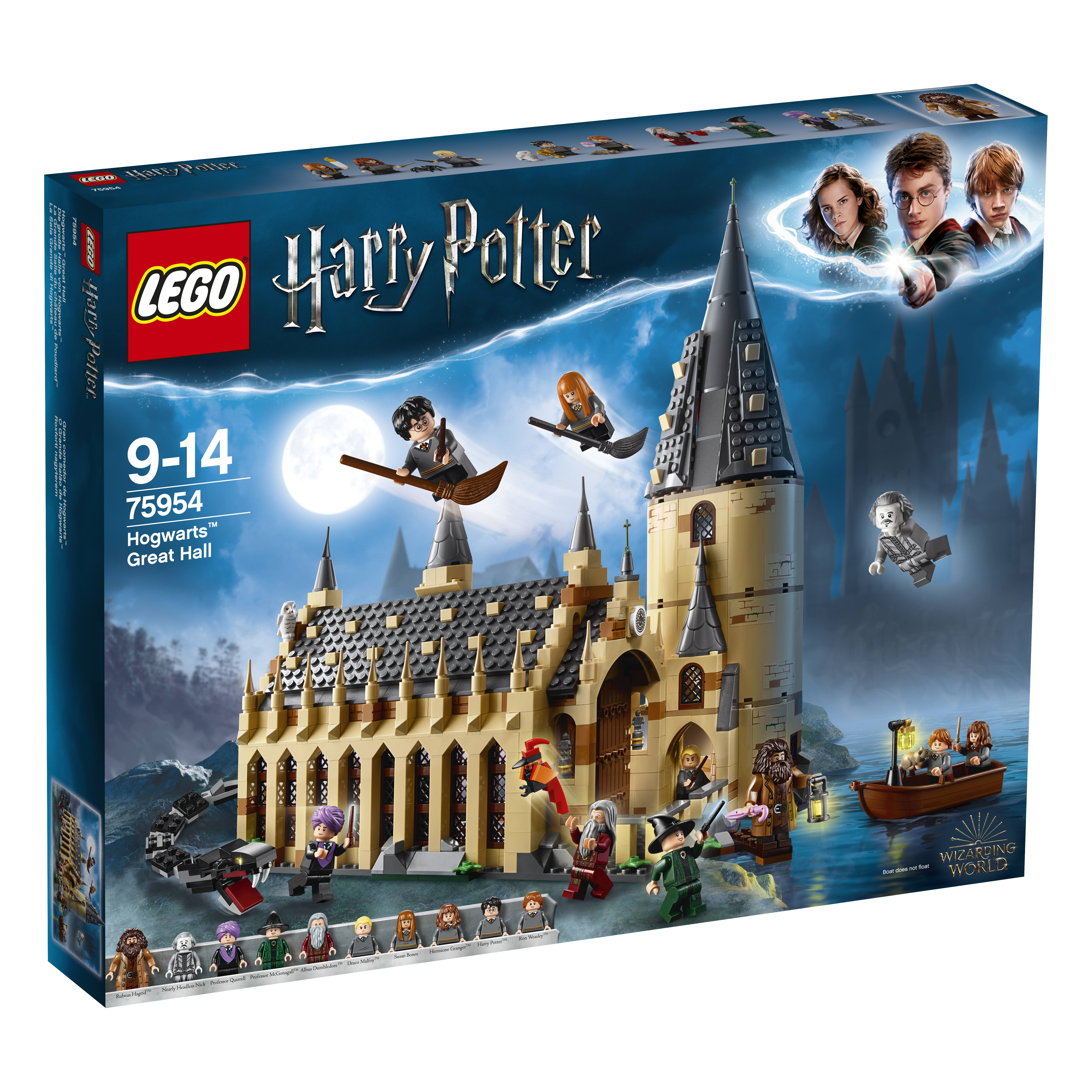 Lego Harry Potter Hogwarts Great Hall Building Toy