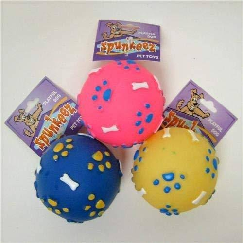 Spunkeez Dog Toys Vinyl Ball - Case of 24