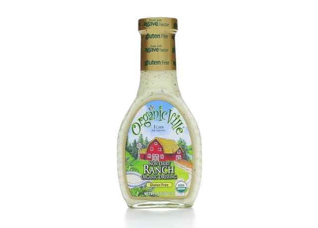OrganicVille Organic Dressing, Non-Dairy Ranch - 8 fl oz bottle