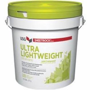 Sheetrock All Purpose Ultra Lightweight Joint Compound, 4.5 Gallon 381903