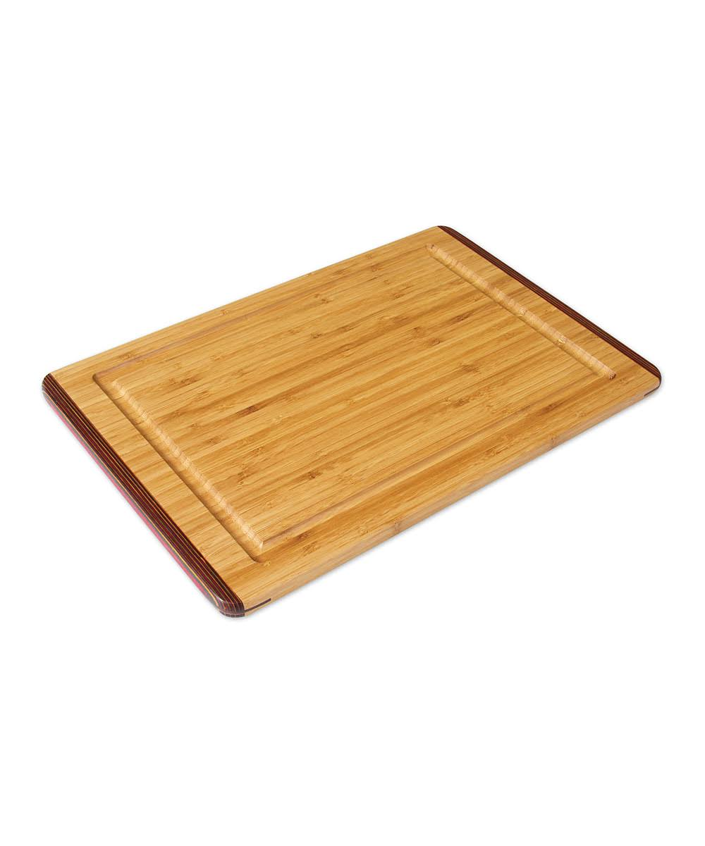 Island Bamboo Rainbow Carving Board