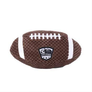 ZippyPaws SportsBallz Football Dog Toy