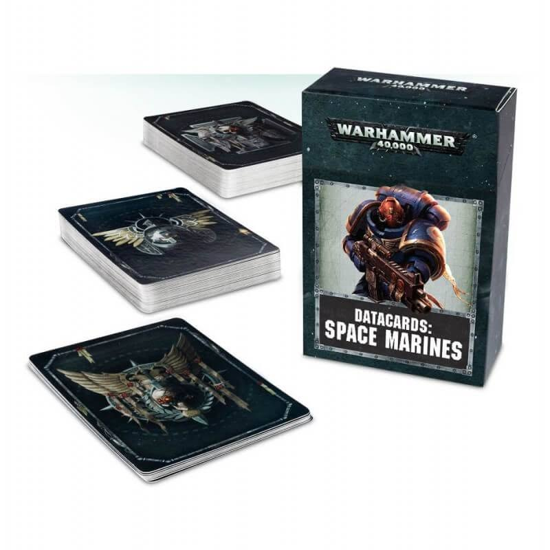 Warhammer 40,000 Space Marines Datacards