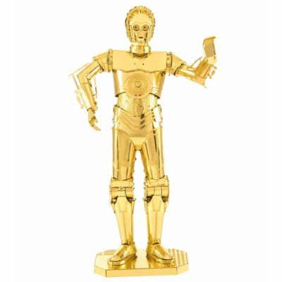 Star Wars C-3PO 3D Metal Model Kit