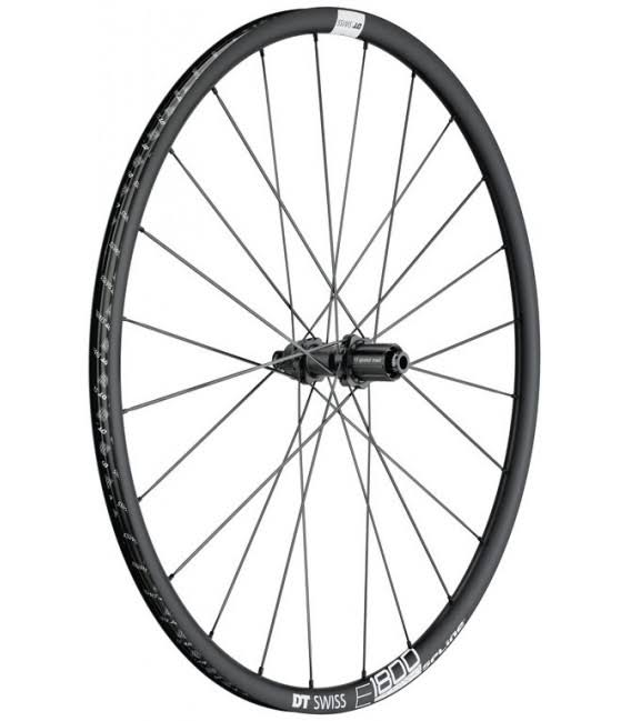 DT Swiss E1800 db23 Spline Rear Wheel - 700c, 12x142mm, Centerlock