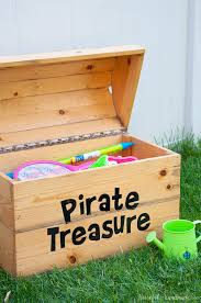 Build Wooden Toy Chest by Diy Treasure Chest Toy Box A Houseful Of Handmade