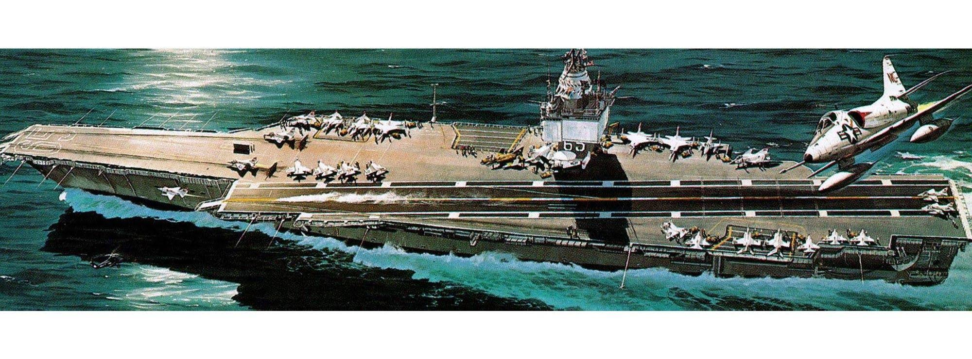 Revell Model Kit - Nuclear Carrier USS Enterprise