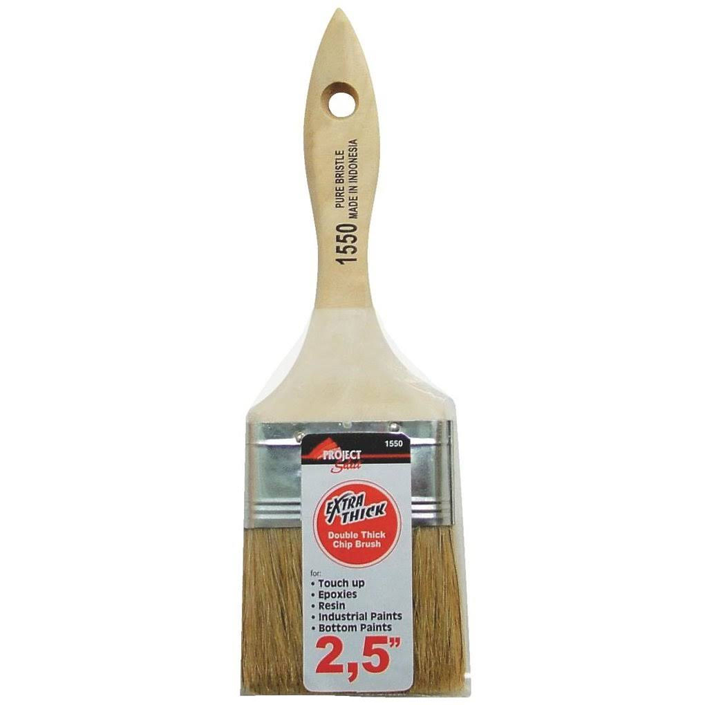 Flat Double Thick Chip Brush - 2.5""