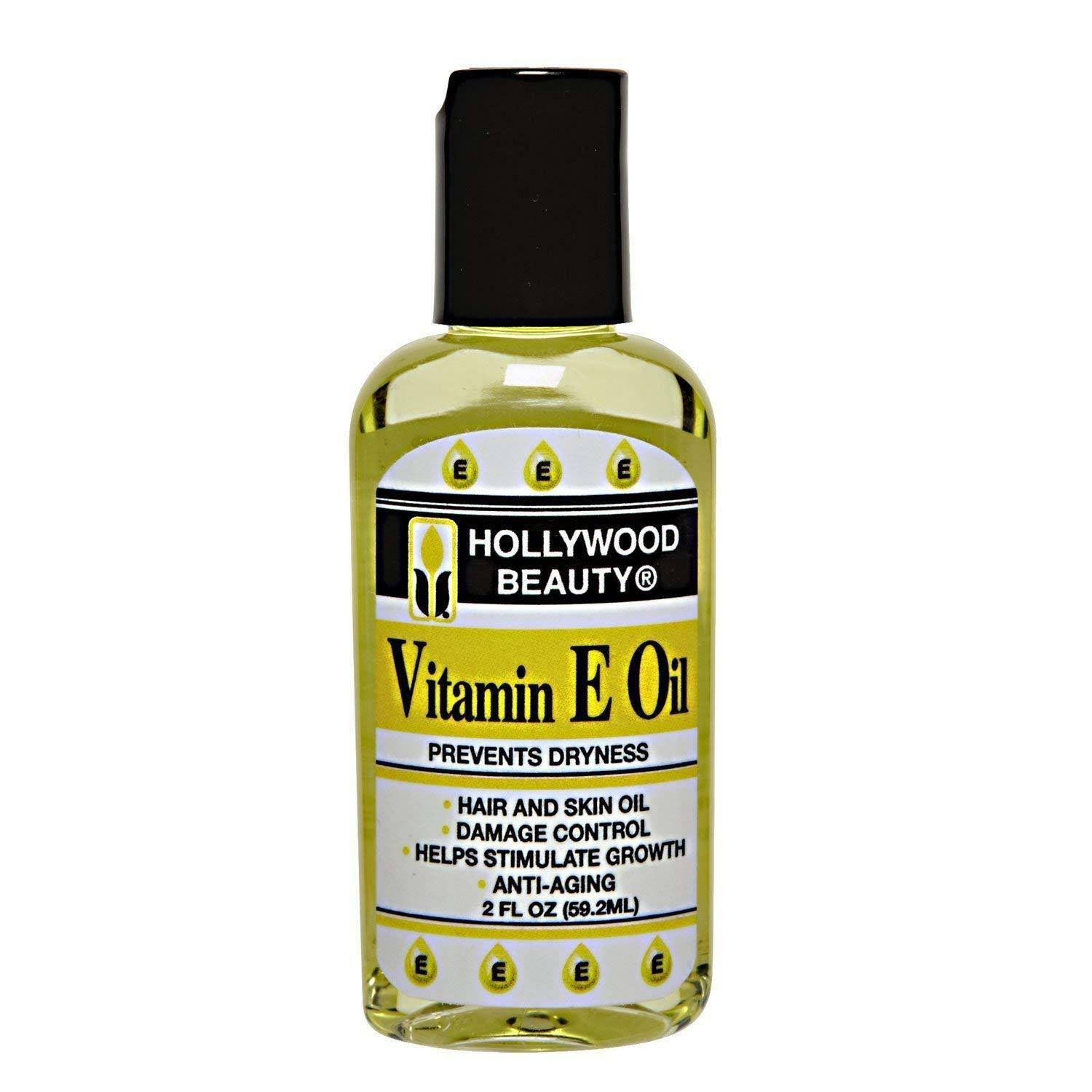 Hollywood Beauty Vitamin E Oil - 2oz