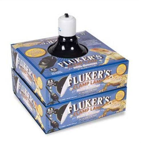 Fluker's Repta-Clamp Lamp Ceramic with Dimmable Switch - 8.5""