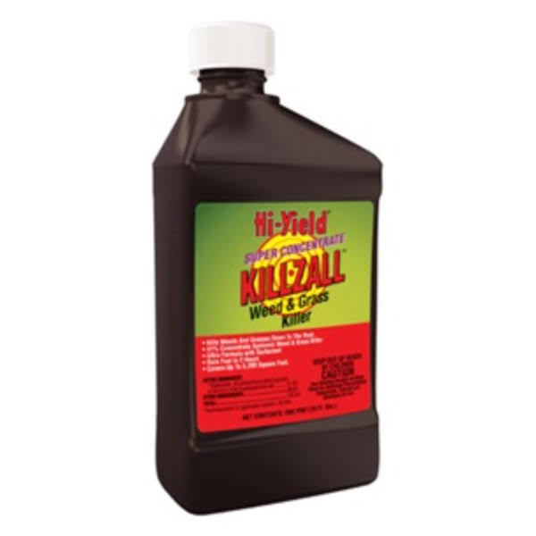 Hi-Yield Killzall Weed and Grass Killer Concentrate - 16oz
