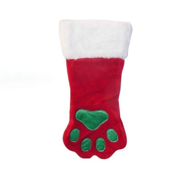 Outward Hound Christmas Paw Dog - Red, Large