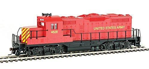 HO Scale Walthers Trainline 931-458 EMD Gp9m United States Army #4628 Model Train