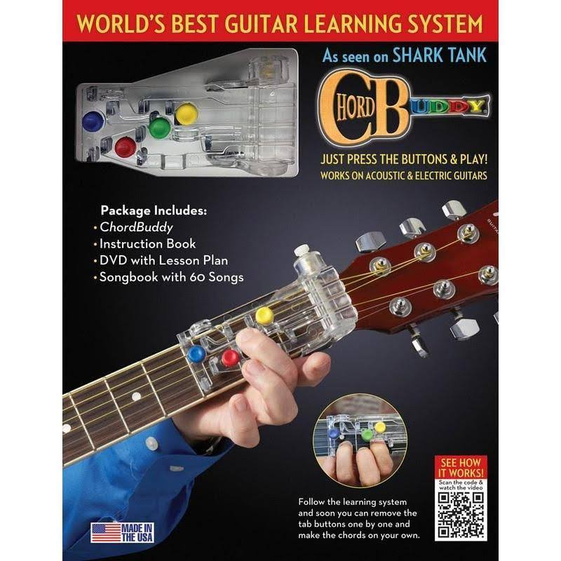 Chordbuddy Learning System DVD