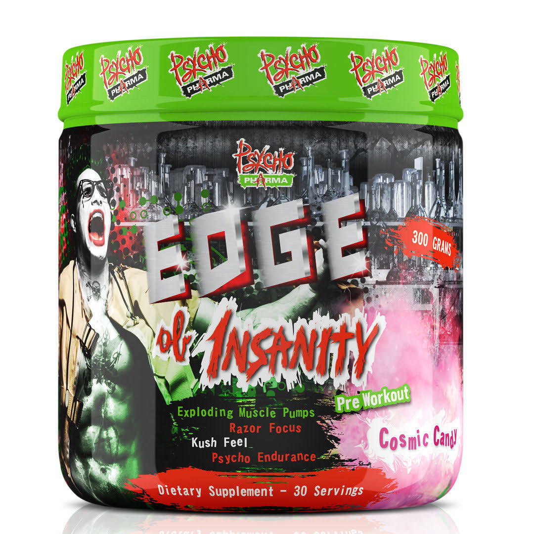 Psycho Pharma Edge of Insanity Spiked Punch 300 Grams