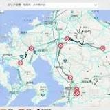 通れた道マップ, トヨタ自動車, 平成24年7月九州北部豪雨, 交通規制