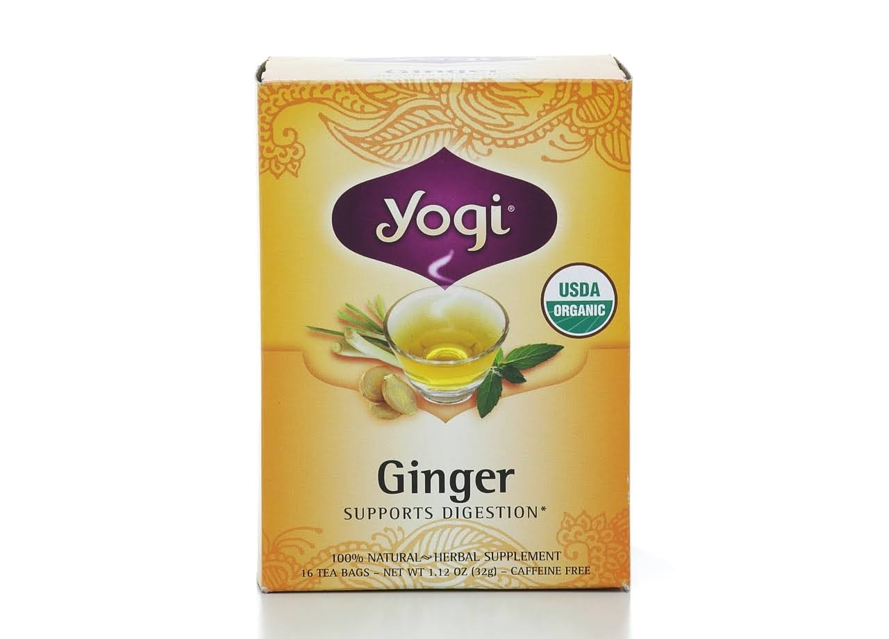 Yogi Ginger Herbal Tea - 16ct
