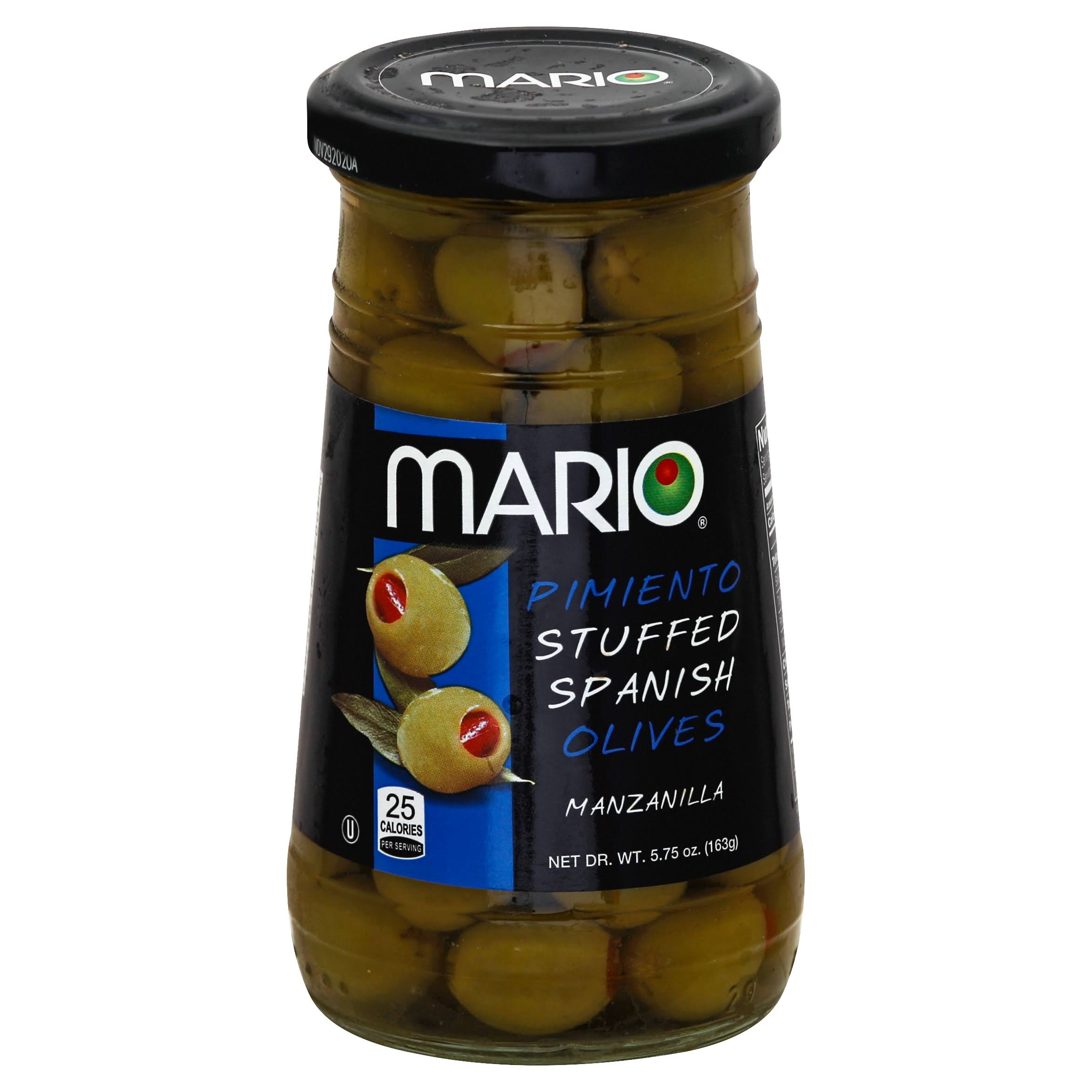 Mario Pimiento Stuffed Spanish Olives - 5.75 oz