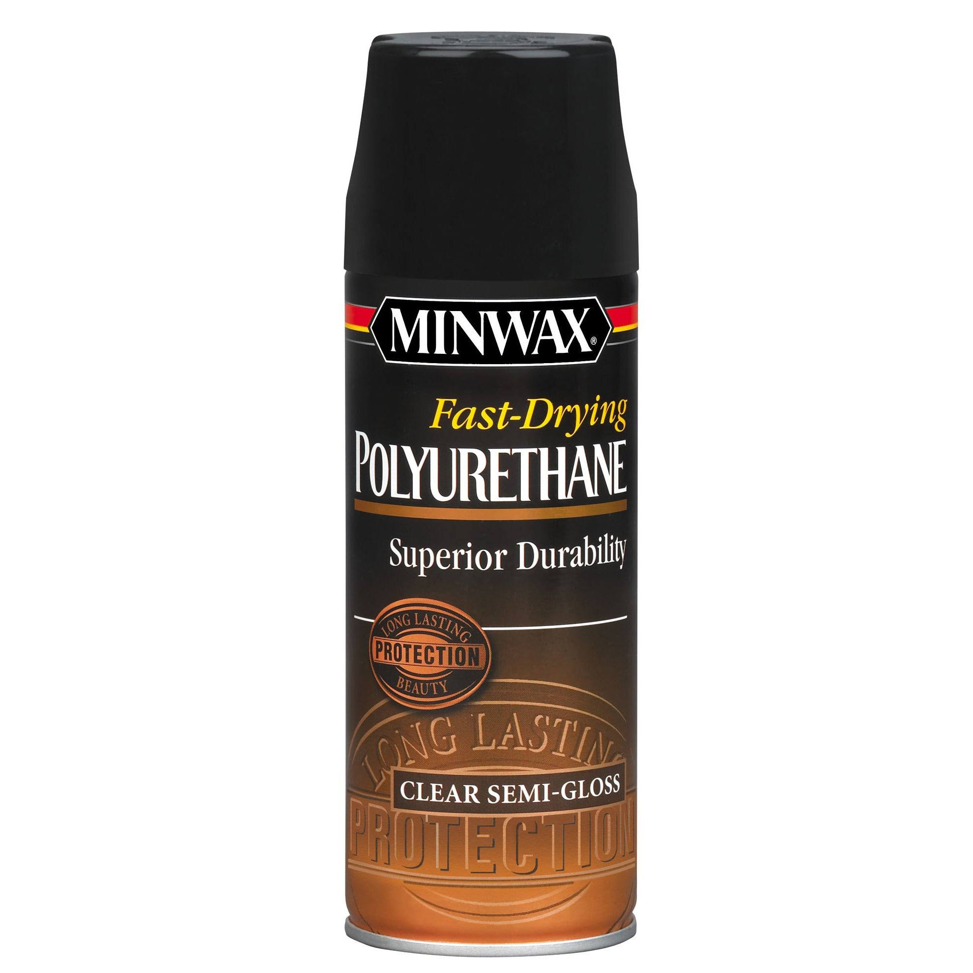 Minwax Fast-drying Polyurethane Aerosol Spray 0 Semi-gloss Finish