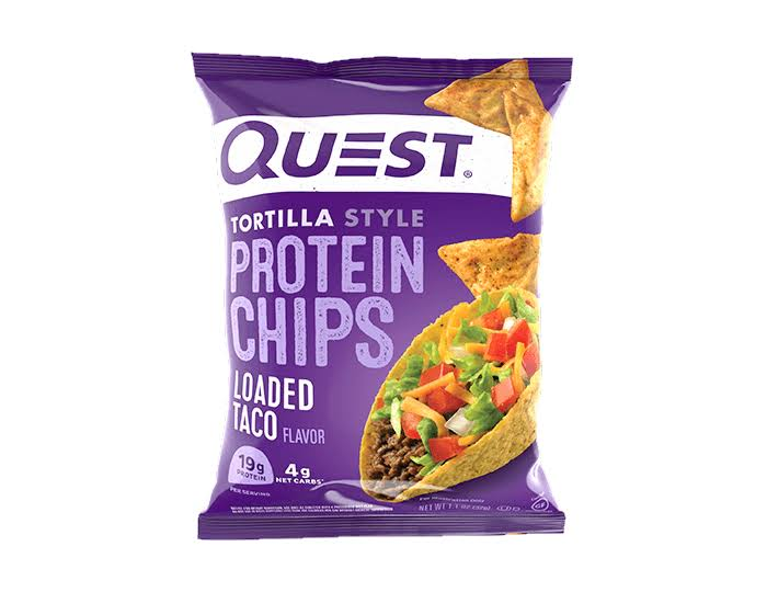 Quest Protein Chips, Loaded Taco Flavor, Tortilla Style - 1.1 oz