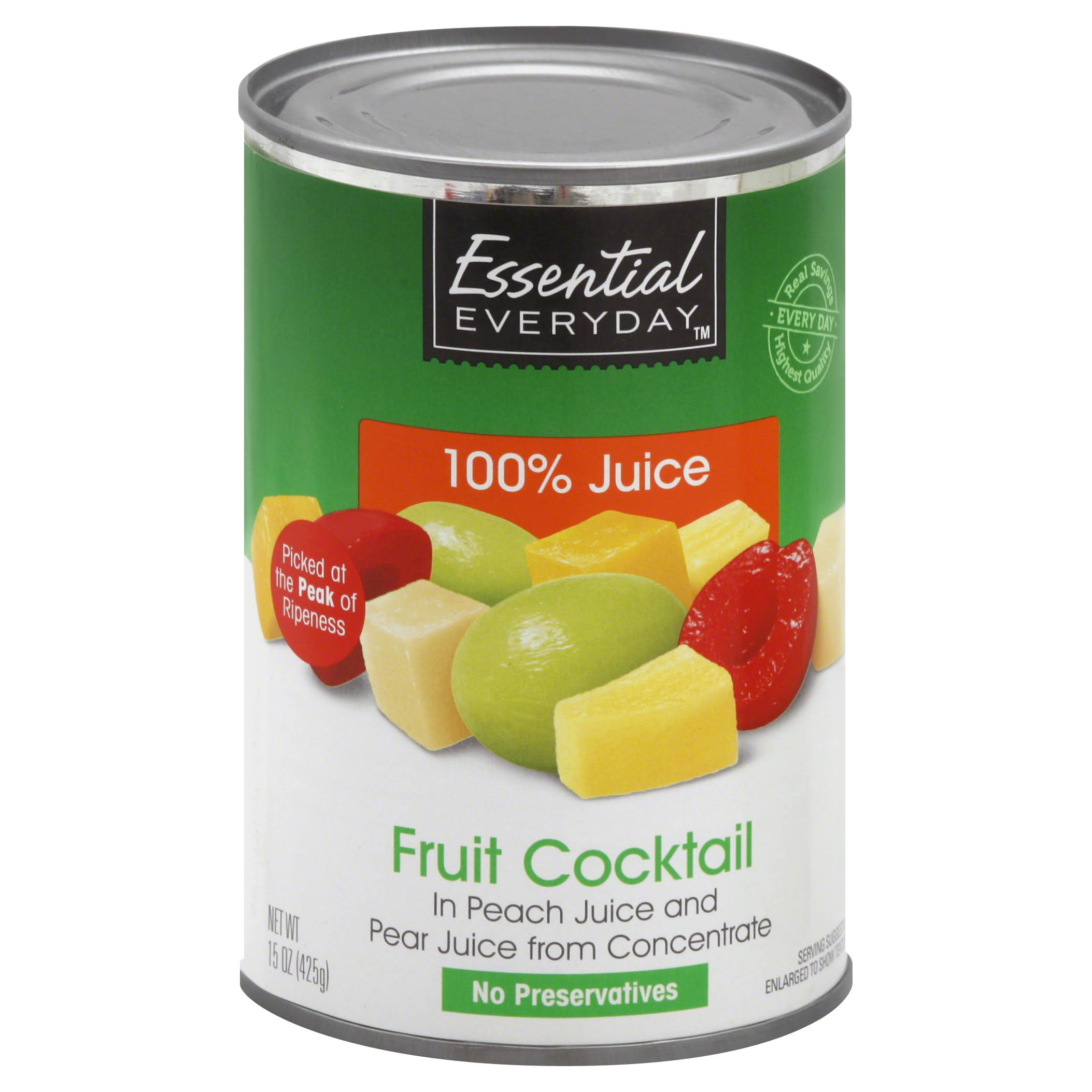 Essential Everyday Fruit Cocktail - 15 oz