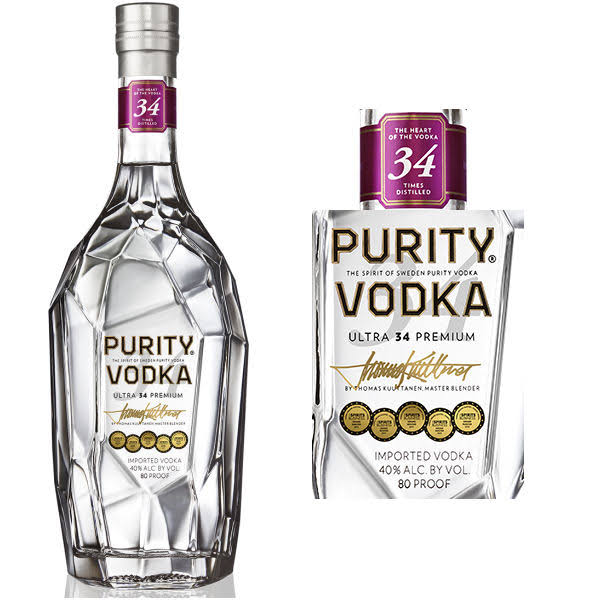 Purity Swedish Vodka - 750 ml bottle