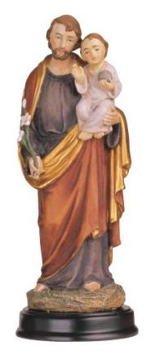 Stealstreet Saint Joseph Holy Figurine Religious Statue Decor, 5""