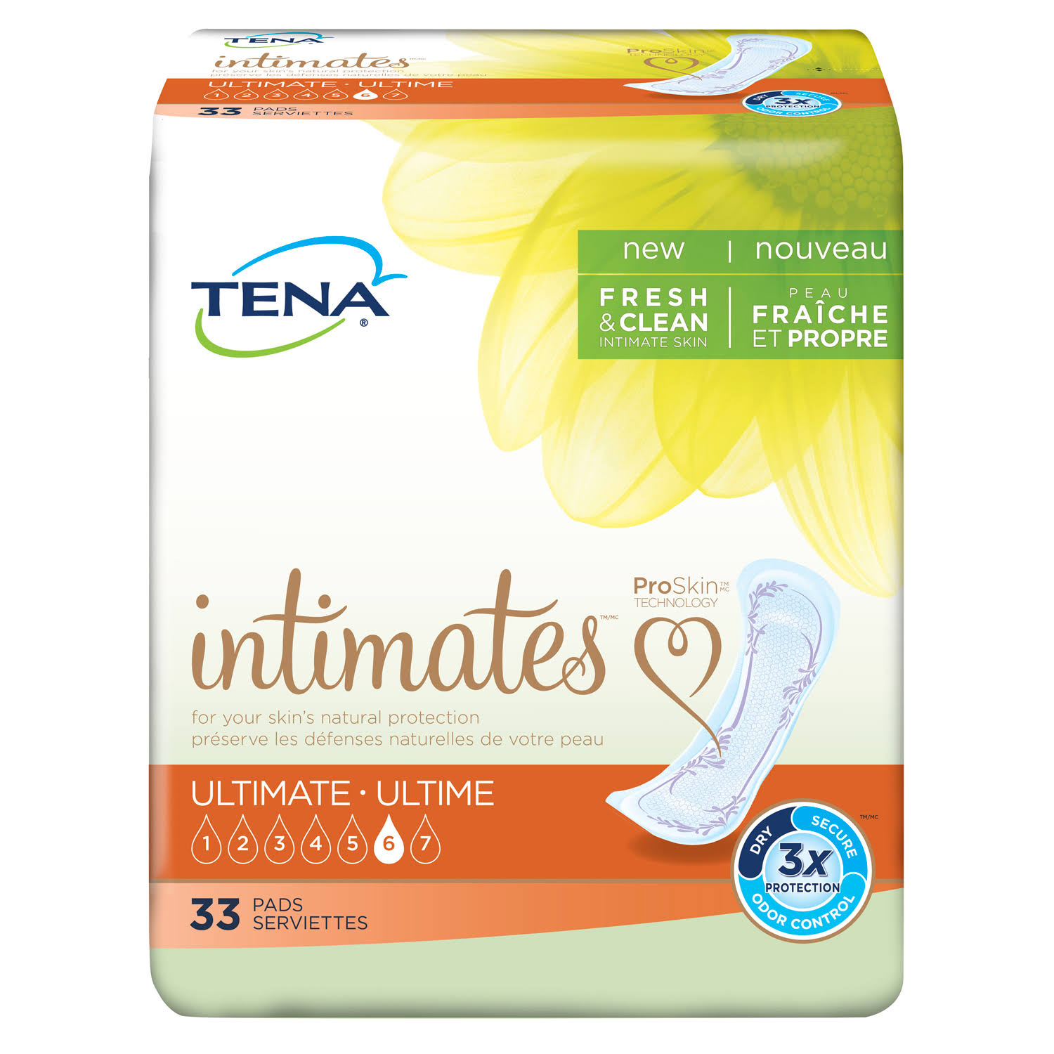 TENA Serenity Ultimate Pads - 33pcs