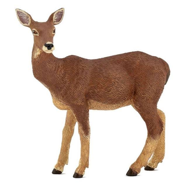 Papo Doe Deer Wild Animal Forest 53014 Toy Figure