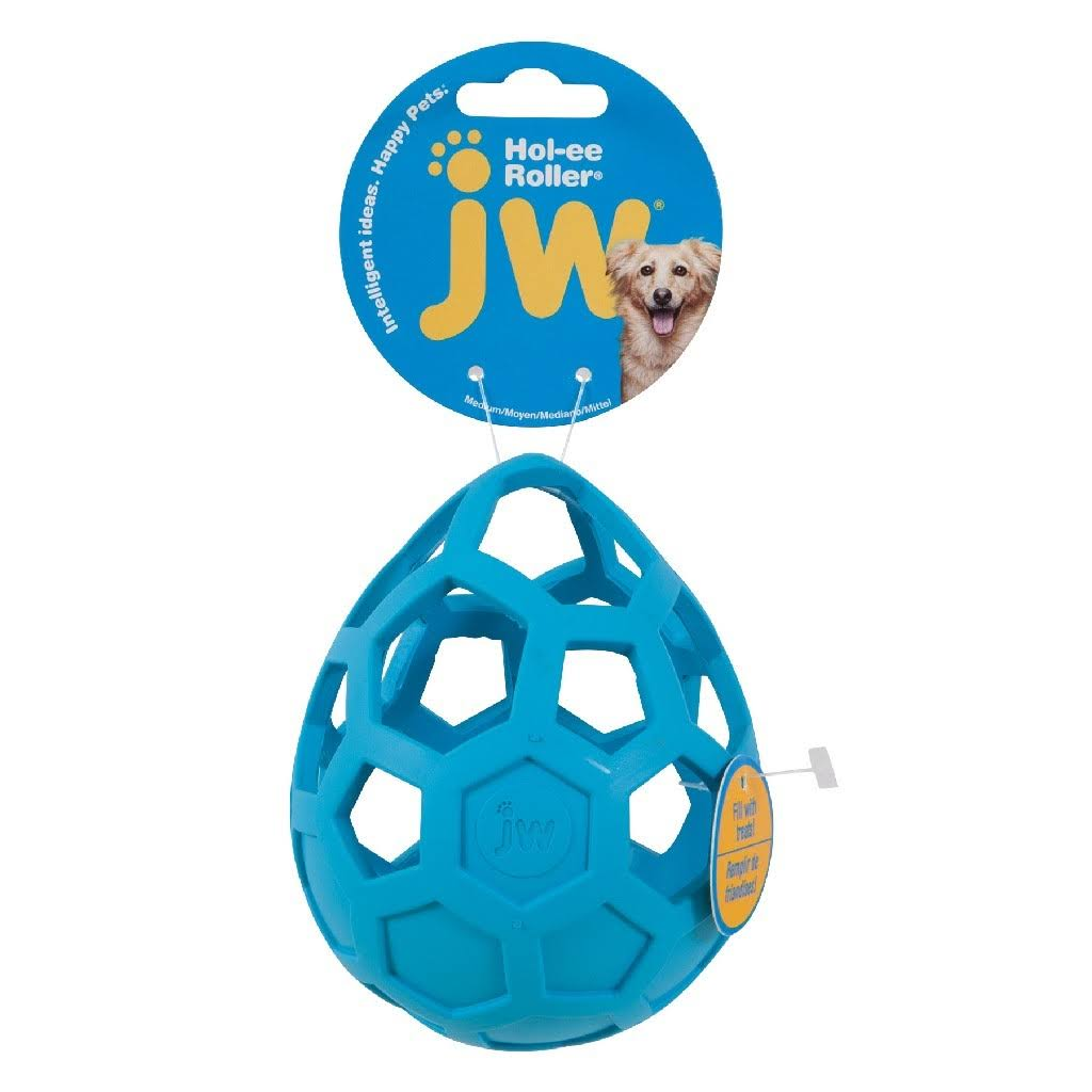 JW Hol-ee Roller Wobbler Unique Dog Treat Toy - 13cm