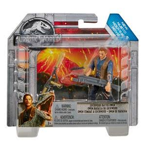 Jurassic World Lockwood Battle Owen Figure