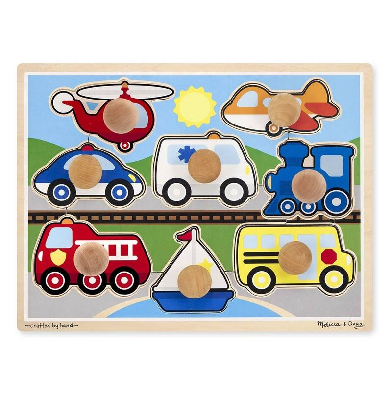 Melissa & Doug Knob Vehicles - Jumbo