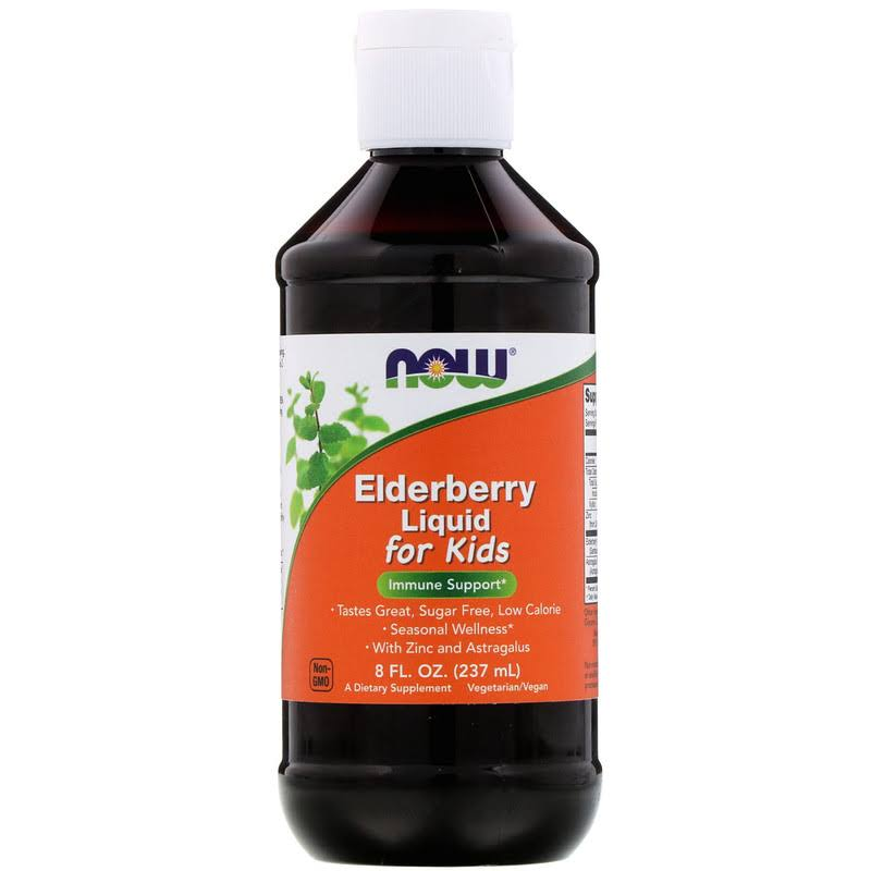 Now Foods Elderberry Liquid for Kids - 8 fl. oz