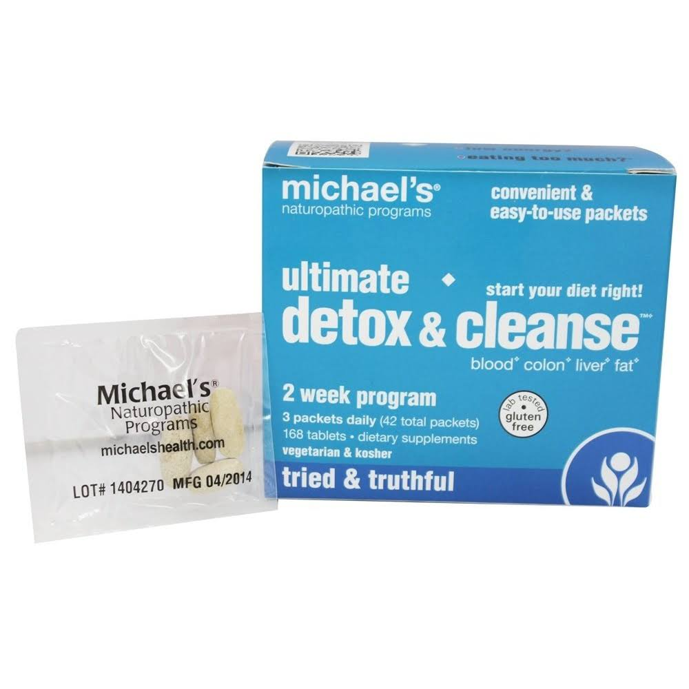 Michael's Naturopathic Programs Ultimate Detox and Cleanse Kit