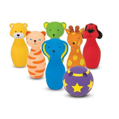 Melissa & Doug Bowling Friends Baby Play K's Kids