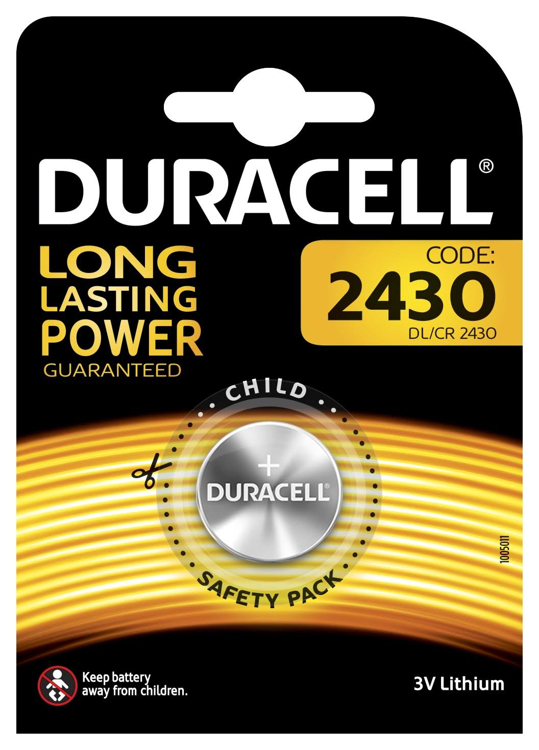 Duracell Electronics Battery - 3V