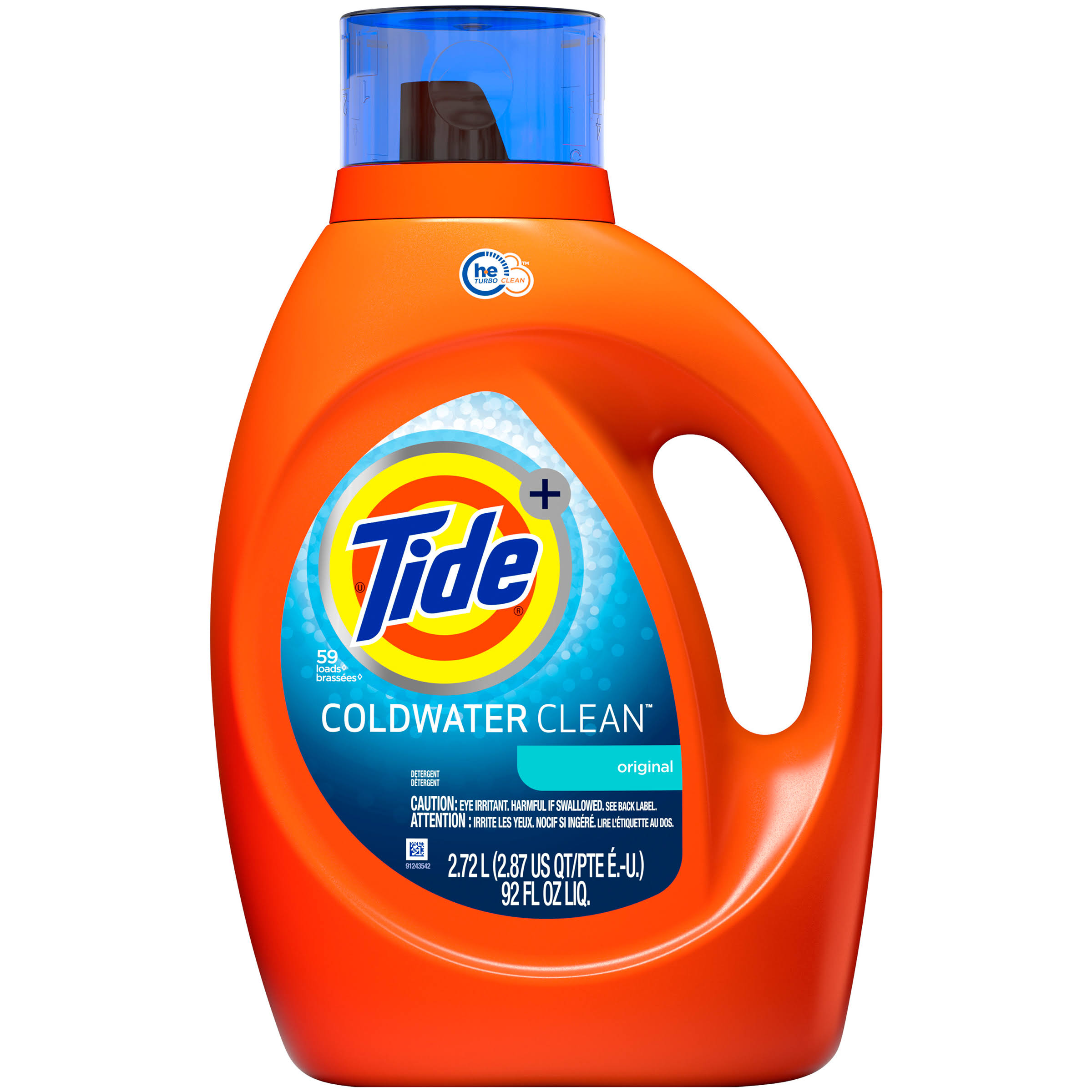 Tide Coldwater Clean Original Detergent - 92oz