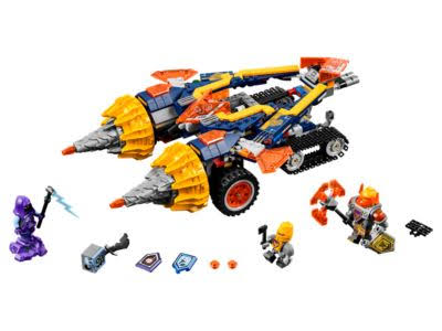 Lego Nexo Knights Axl's Rumble Maker Building Toy - 393pcs