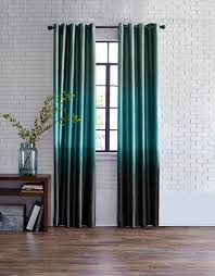 Moroccan Tile Curtain Panels by Studio Dylan Ombré Grommet Top Curtain Panel Room Lights And