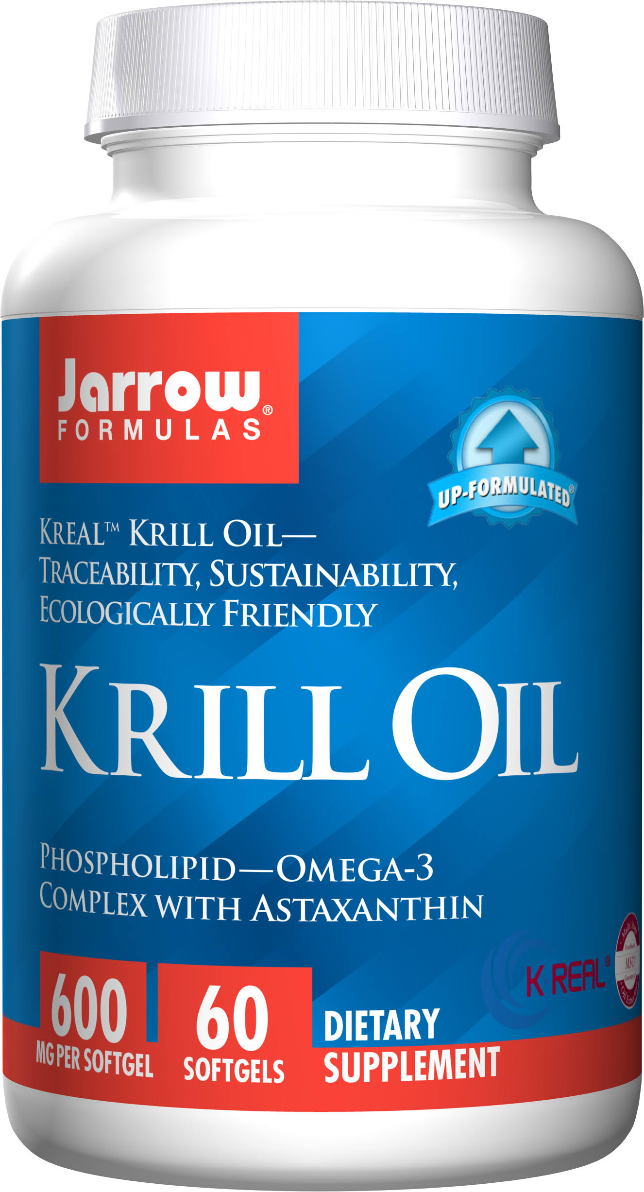 Jarrow Formulas Krill Oil Supplement - 60 Softgels