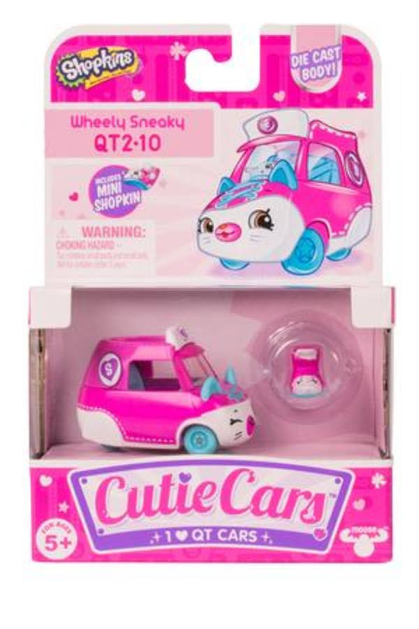 Shopkins Cutie Cars Series 2 Single Pack - Assorted